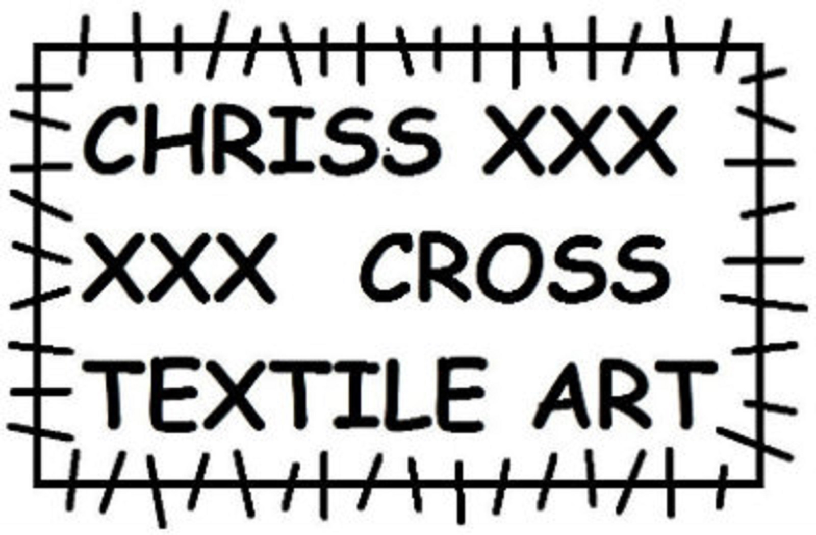 Chriss Cross Texile Art Logo winkel